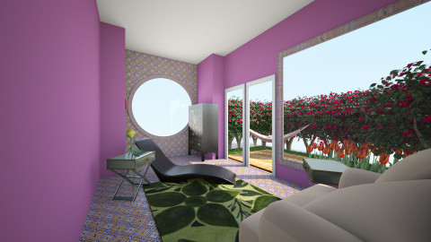 Relax - Garden - by Wendy Broyles