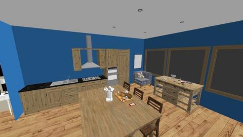 bluesy - Kitchen  - by emivim