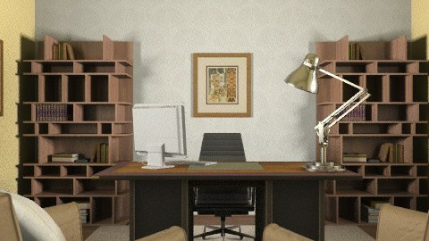 home office professional - Classic - Office  - by goldengirllover