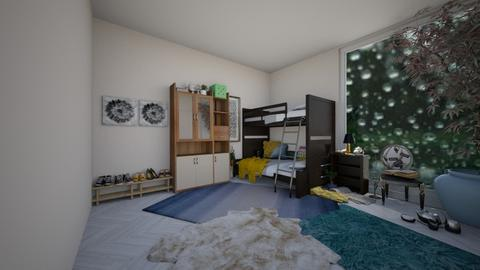 House part2 - Classic - Kids room  - by wolfiewolf123