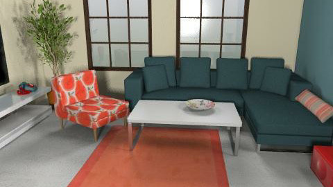 MU - Living room - by ani_kapanova