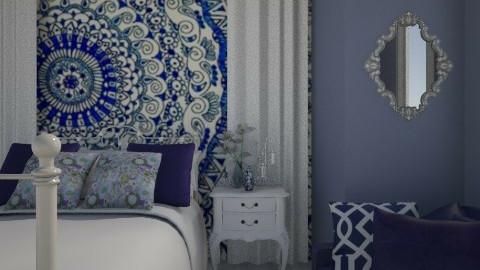 La boheme  - Vintage - Bedroom  - by SariJo