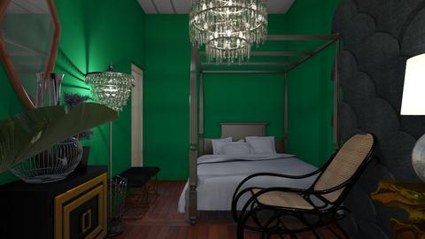 mushroom - Glamour - Bedroom  - by habelka