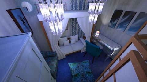Hippie Bedroom - Bedroom - by Minder10