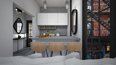 Casa205KitchenandDining - Modern - Kitchen  - by nickynunes
