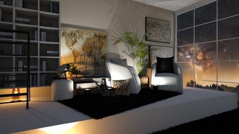 Travel memories - Living room  - by Meghan White
