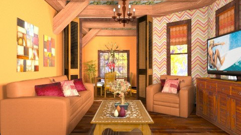 Cecilia  - Country - Living room  - by deleted_1566988695_Saharasaraharas