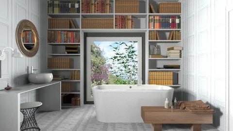 Book And Bath - Classic - Bathroom  - by 3rdfloor