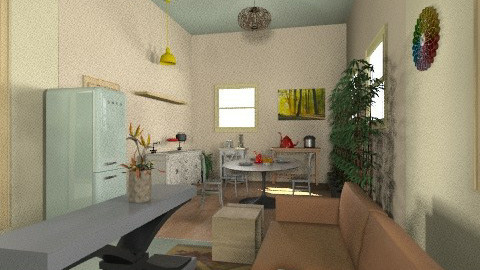 0206 - Country - Kitchen  - by zeland