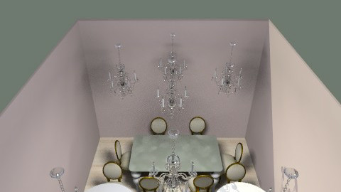 Dine! :) - Glamour - Dining room - by popso3144