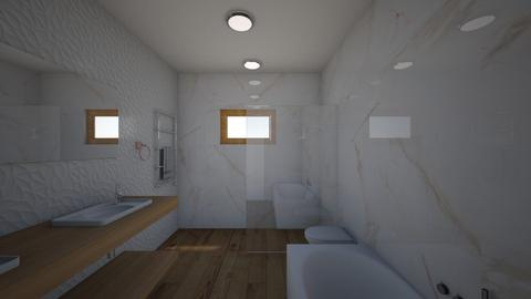 Mehes terv 2 - Modern - Bathroom  - by Lella92