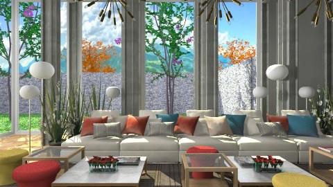 Yazd Hotel Lounge - Modern - by 3rdfloor