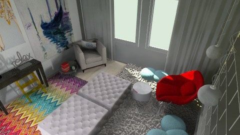 Cozy reading area - Eclectic - by user_1048819