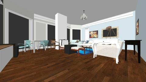 Living10e - Living room - by hala amroussy