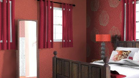 aiden and eli's room - Country - Bedroom  - by MissMazzi