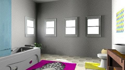 Bathroom - Eclectic - by cedzidlok