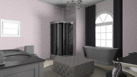 Fancy Bathroom - Glamour - Bathroom  - by katty1215