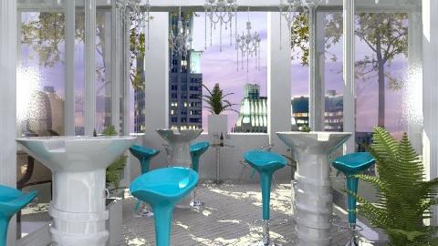 Manhattan Terrace - Modern - Garden  - by MaMariposa
