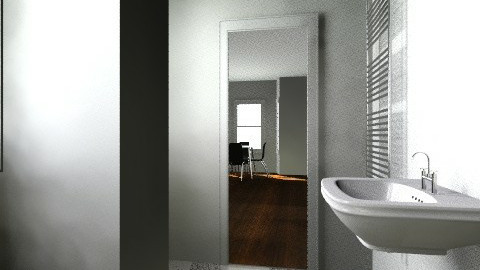 Berners Mansions Plan New - Minimal - Bathroom  - by benweaver