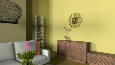 LeeLine - Eclectic - Office  - by evakarwowska