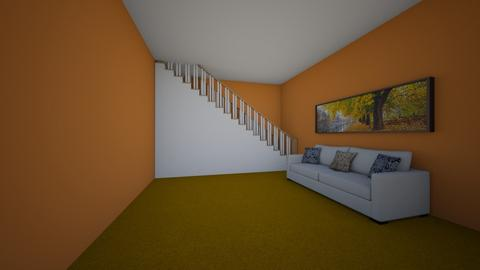 Autumn hallway - by cb28026