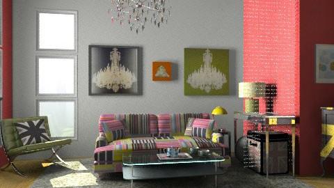London Calling - Vintage - Bedroom  - by PennyDreadful