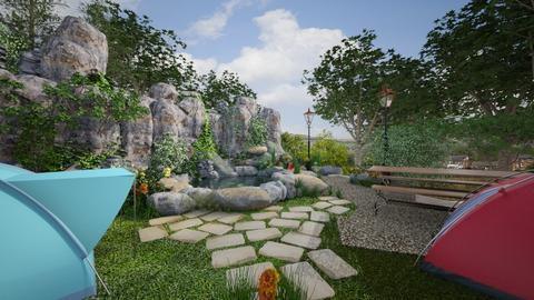 Beautiful Campsite - Rustic - Garden  - by annatyler08