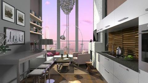 New york Sunset Coast - Modern - Living room  - by sahfs