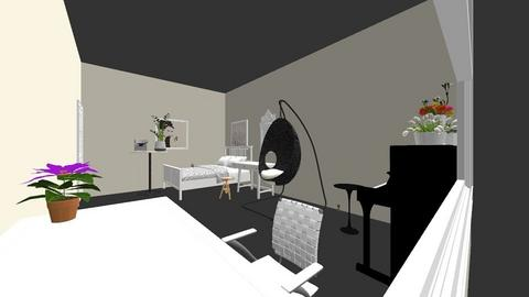 agnes barkunu good 2 - Living room  - by sigitabal