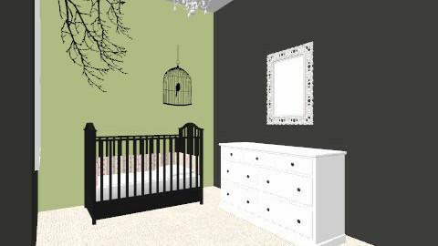 Nursery Concept - Vintage - Kids room - by MiloM