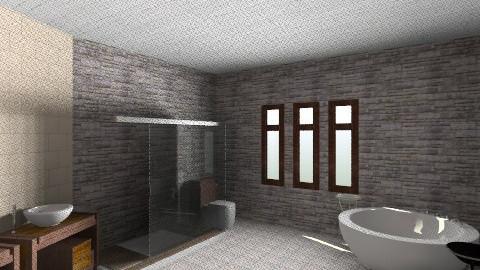 Bed and bath - Minimal - Bathroom - by Laura Preise