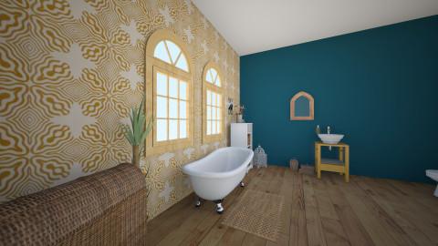Simple Bathroom - Country - Bathroom  - by ellehawes