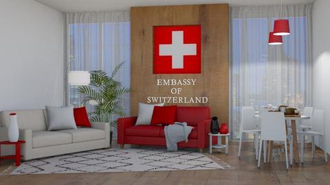 Swiss embassy - by GermanFriday