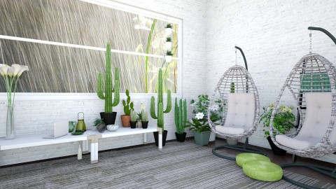 green - Glamour - Garden - by loes_vb