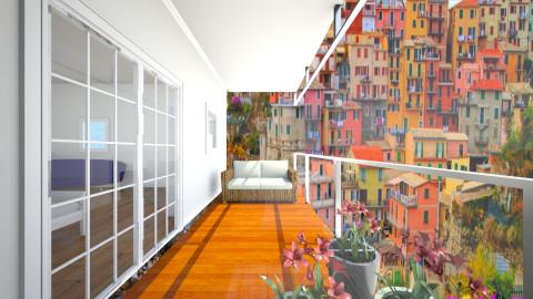 Balcony - Minimal - by CasuallyCrystalClear