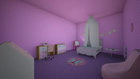 Girls room - Classic - Kids room  - by Sandy Cohen