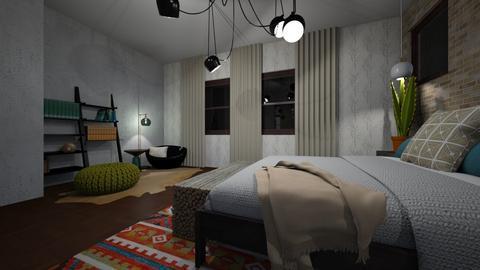 Bedroom1 - Bedroom - by jenkotter3