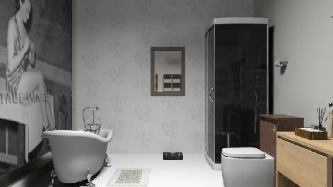 banheiro - Glamour - Bathroom  - by hana jessika viana inacio