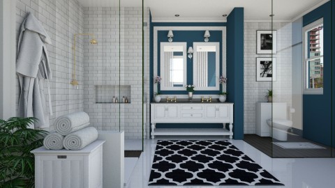 Bathroom V1 - Glamour - Bathroom  - by Ejad Shukri