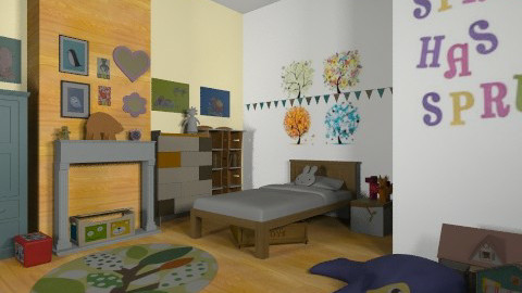 Spring time - Eclectic - Kids room  - by mrschicken