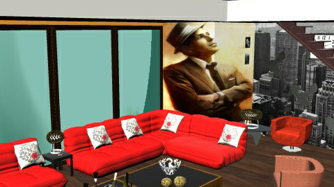 New York New York - Glamour - Living room  - by mydeco