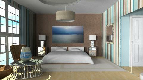 hotel - Eclectic - Bedroom  - by chania