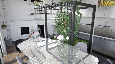 Living room 1 - Modern - Living room - by Farah Kh
