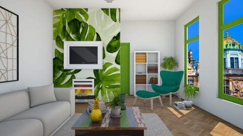 Tropical inspiration - Eclectic - Living room  - by martinabb