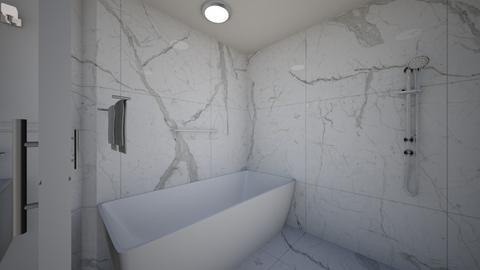 Mr  Mrs Holt Shower - Modern - Bathroom  - by DHRGW