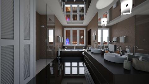MountainSpaBathRoom - Bathroom  - by Nard8A