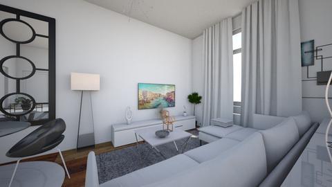 small flat living room - Modern - Living room  - by elenipap