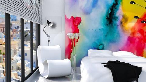 Watercolor - Modern - Bedroom  - by millerfam