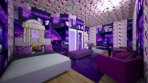 a among us purple room - Modern - Kids room  - by Sofia and kiki