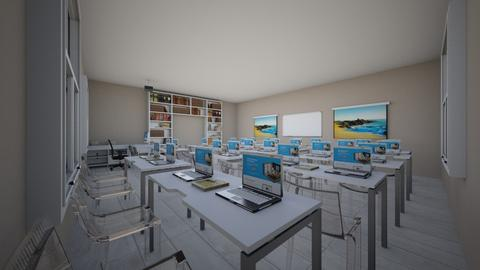 classroom - by FEESTYTAKEAMCDO